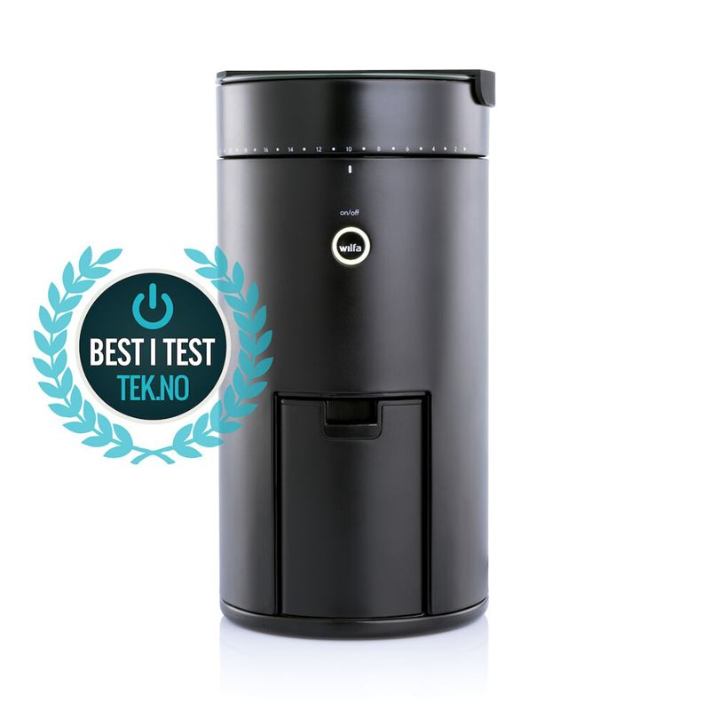 Best i test kaffekvern SVART Uniform WSFBS-100B
